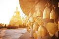 Sitting Buddha and buddhist bells - PhotoDune Item for Sale