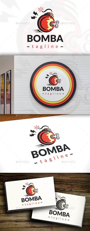 GraphicRiver Bomb Logo 11412207
