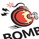 Bomb Logo - GraphicRiver Item for Sale