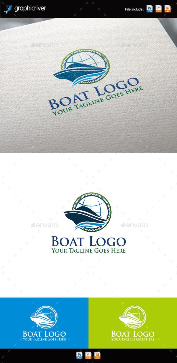 GraphicRiver Boat Logo 11412997