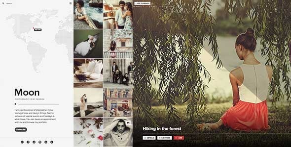 ThemeForest Photography Portfolio Blog & Shop for Creatives 11413730