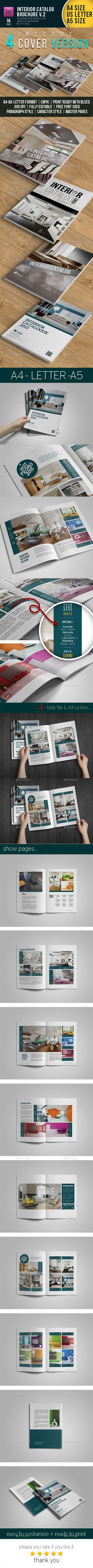 GraphicRiver Brochure Catalog Template 11414093