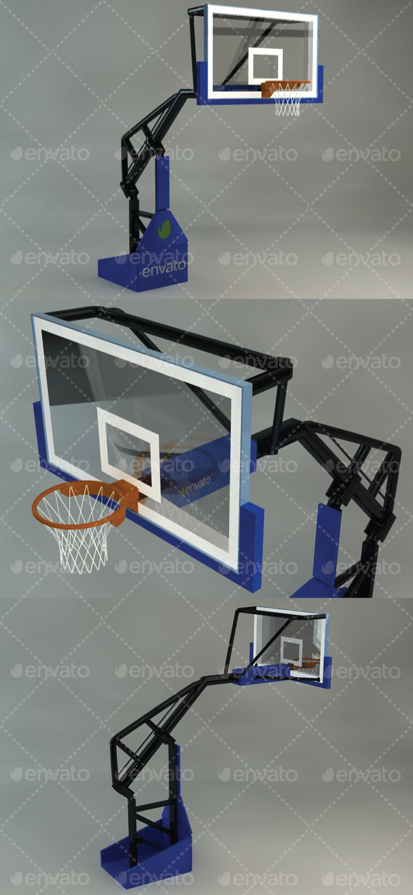 3DOcean Basketball Hoop 11414118