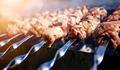 Grilling marinated shashlik - PhotoDune Item for Sale