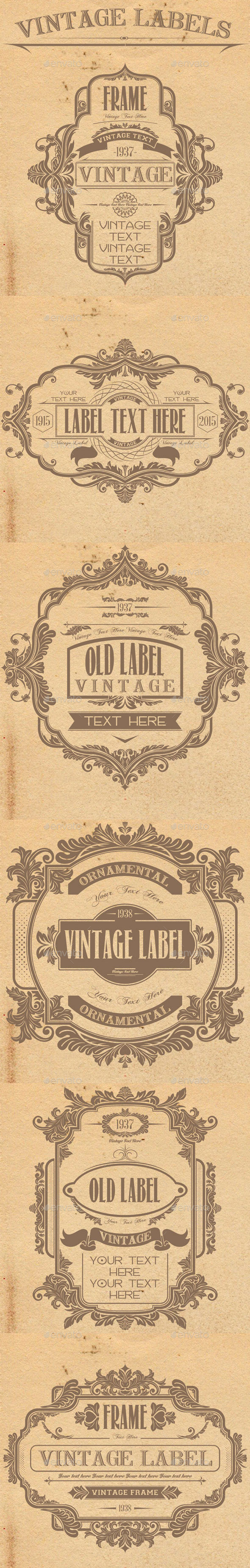 GraphicRiver Vintage Labels 11414617