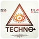 Techno - Flyer [Vol.4] - GraphicRiver Item for Sale