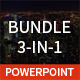 Bundle 3 in 1 Powerpoint Template - GraphicRiver Item for Sale