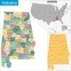 Alabama State - GraphicRiver Item for Sale