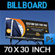 Tailor Fashion Billboard Template - GraphicRiver Item for Sale