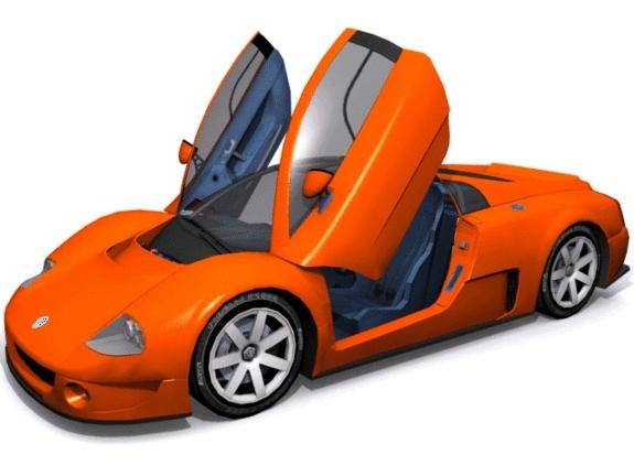 Volkswagen W-12 - 3DOcean Item for Sale