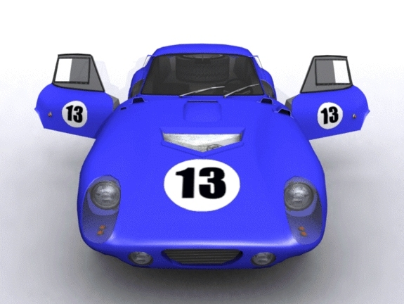 Ford Shelby Daytona Racer - 3DOcean Item for Sale