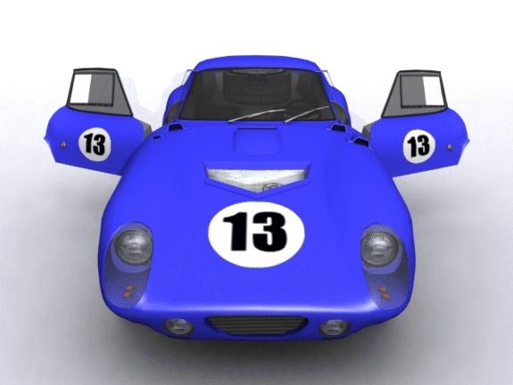 3DOcean Ford Shelby Daytona Racer 1143259