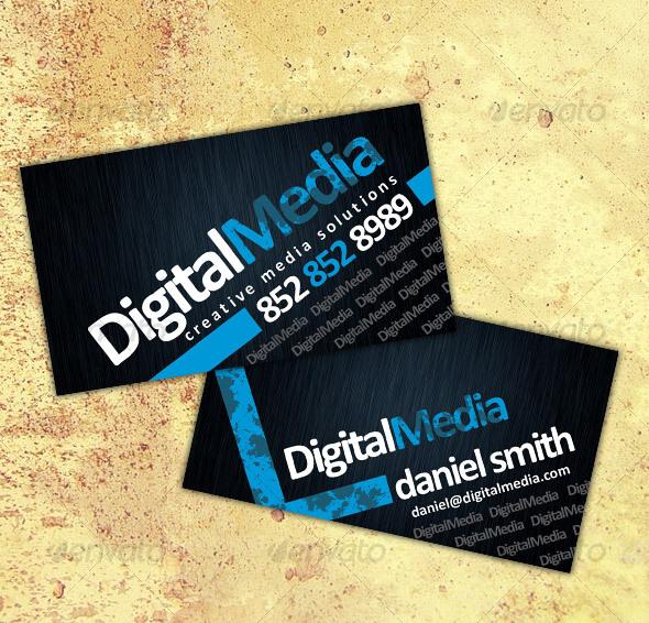 GraphicRiver Business Card No2 46461