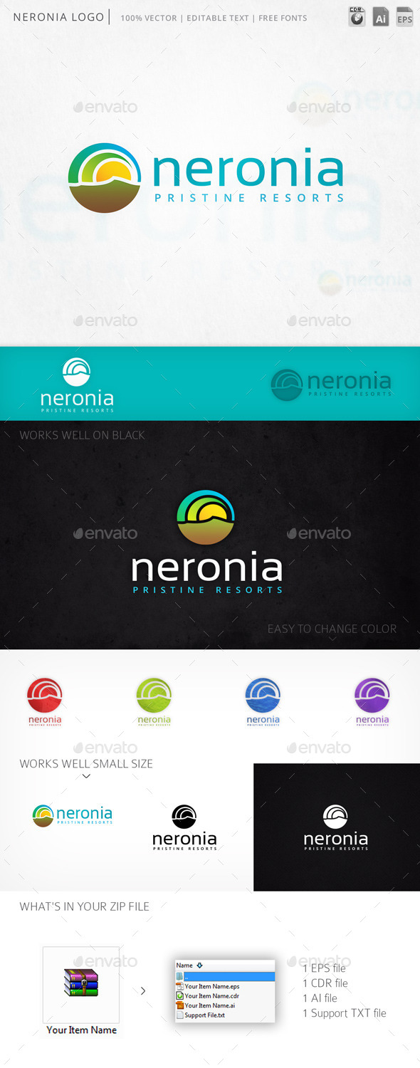 GraphicRiver Neronia Logo 11415228