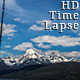 Several Snowy Mountain Peaks with Deep Blue Sky - VideoHive Item for Sale