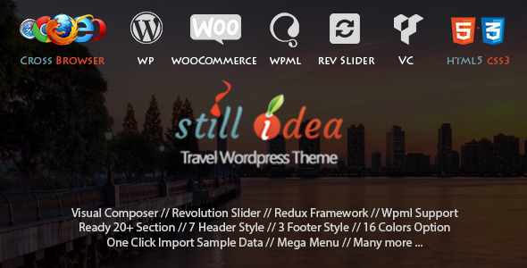 ThemeForest Stillidea Travel Tour Multipurpose WP Theme 11151269