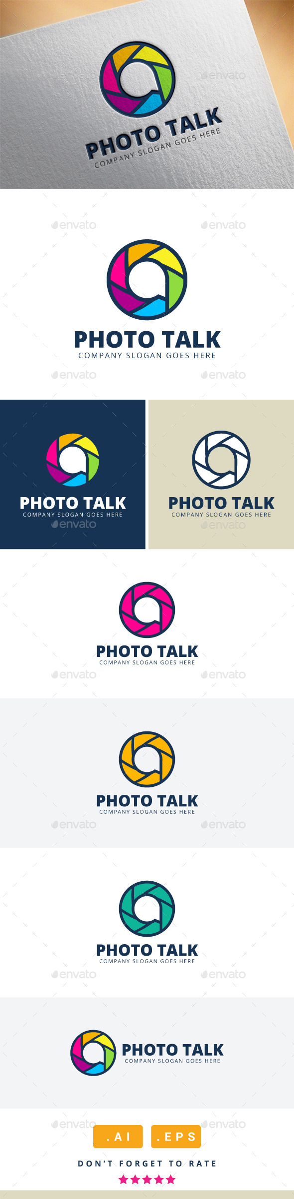 GraphicRiver Photo Talk Logo 11416501