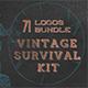 Vintage Survival Bundle - GraphicRiver Item for Sale