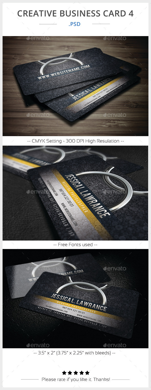 GraphicRiver Creative Business Card 4 11416777