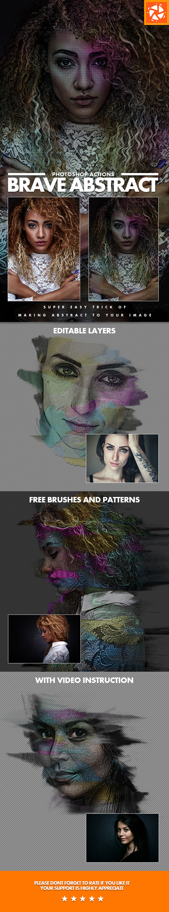 GraphicRiver Brave Abstract Actions 11416918