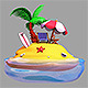 Vacation Island - 3DOcean Item for Sale
