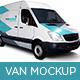 Van Mock Up - GraphicRiver Item for Sale