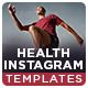 Health Instagram Templates - 10 Designs - GraphicRiver Item for Sale
