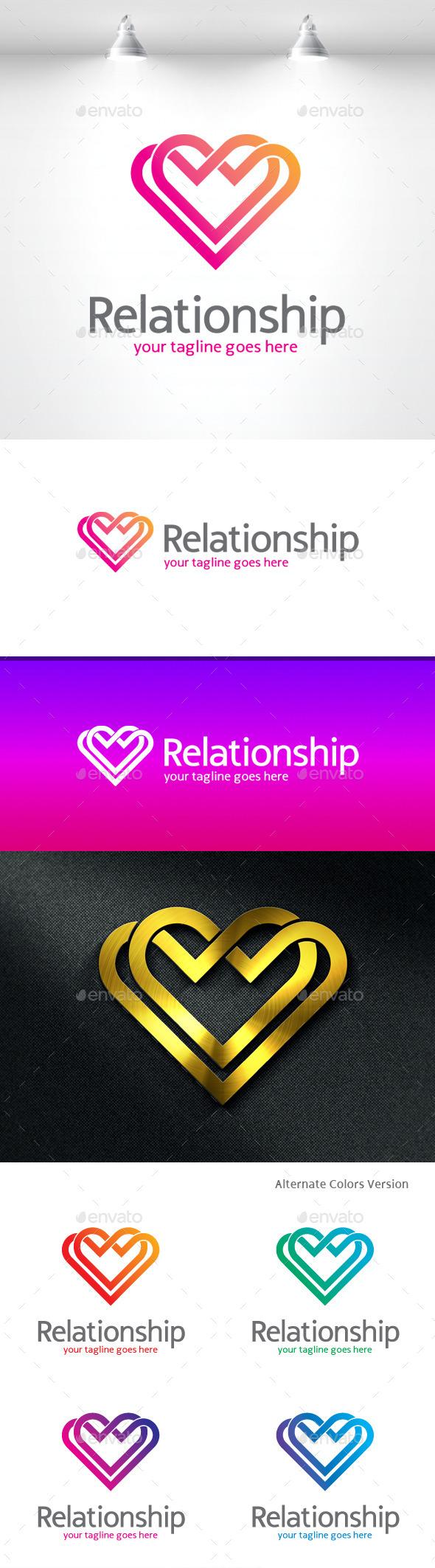 GraphicRiver Relationship Love Logo 11419156