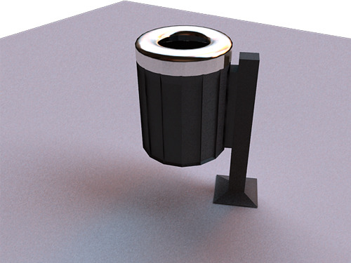 garbage can vray for maya
