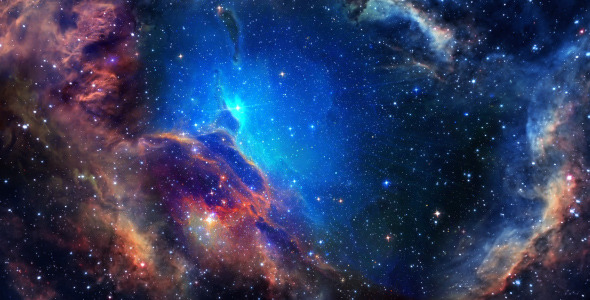 Space Nebula Background - 5