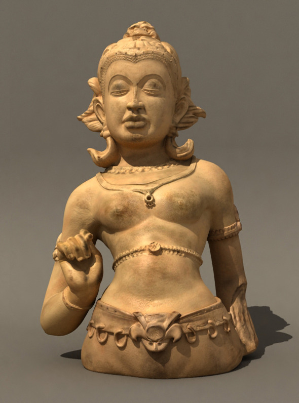 3DOcean Indian sculpture 1144039