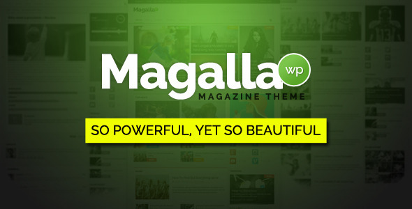 Magalla Magazine – News and Business Blog (Blog / Magazine) Download