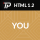 You - Personal HTML Template - ThemeForest Item for Sale