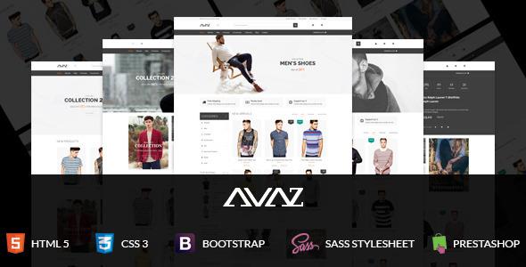 ThemeForest SNS Avaz Responsive Prestashop Theme 11420133