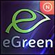 Leaf Letter E - GraphicRiver Item for Sale