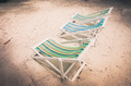 Beach colorful chair  vintage - PhotoDune Item for Sale