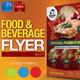 Restaurant Flyer Vol.8 - GraphicRiver Item for Sale