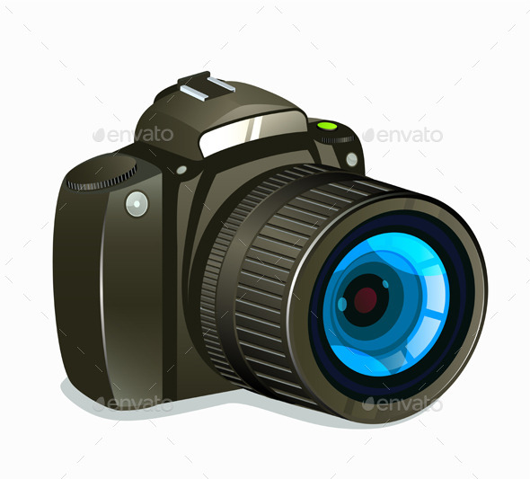 GraphicRiver Photo Camera Icon Side View 11421177
