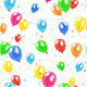 Seamless Balloons Background - GraphicRiver Item for Sale