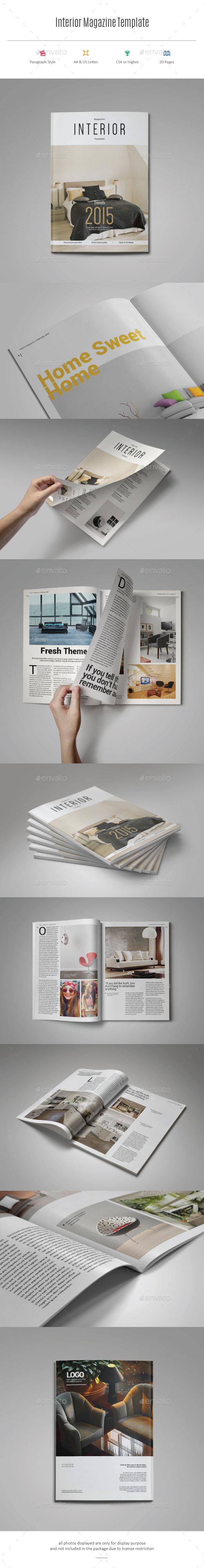 GraphicRiver Interior Magazine Template 11421391