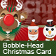 Bobble-Head Christmas Cards - ActiveDen Item for Sale