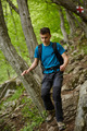 Teenager hiker on a mountain trail - PhotoDune Item for Sale
