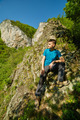 Teenager boy posing on the mountains - PhotoDune Item for Sale