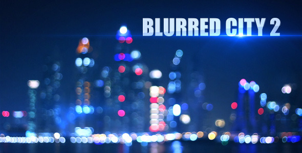 Blurred City Background 2