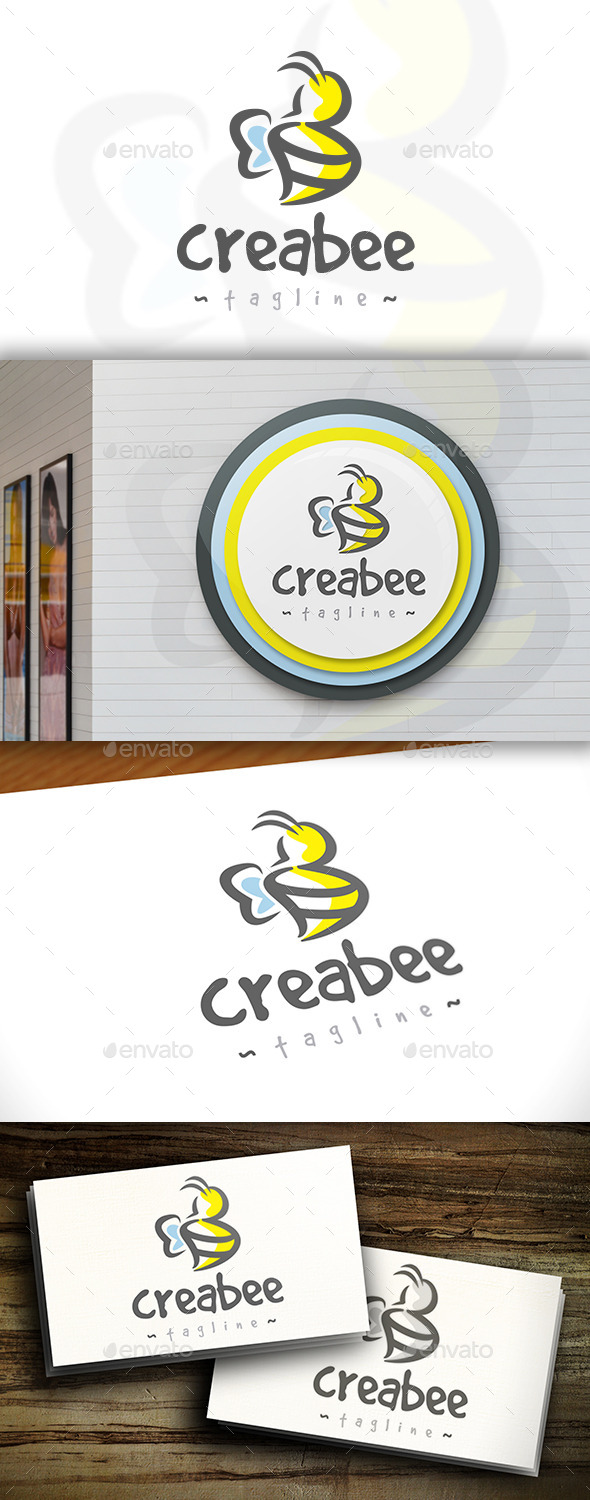 GraphicRiver Creative Bee Logo 11421852