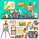 Art Studio - GraphicRiver Item for Sale