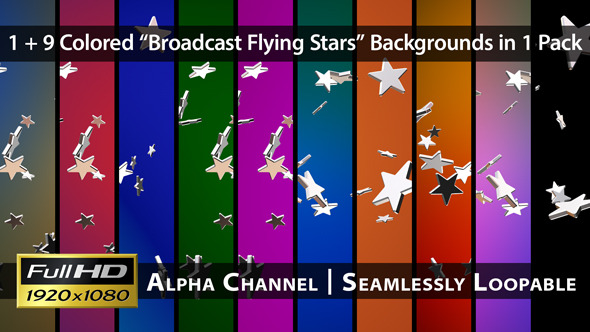 Broadcast Flying Stars Pack 02