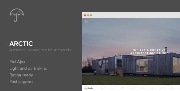 Arctic - Architecture & Creatives WordPress Theme
