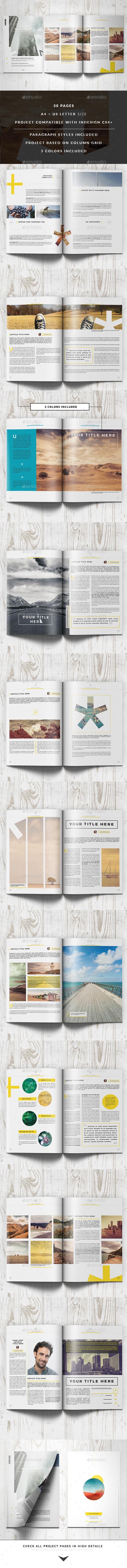 GraphicRiver Clean Magazine Template 11422937