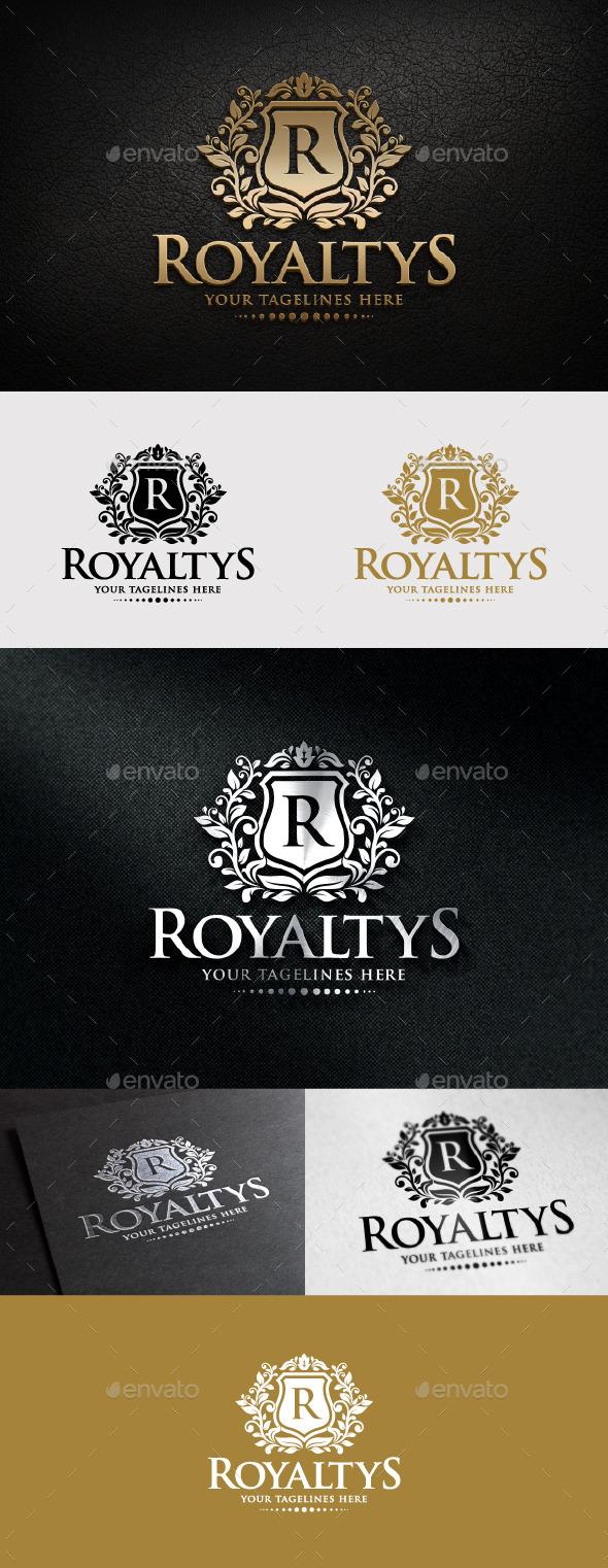 GraphicRiver Royaltys Logo 11406910